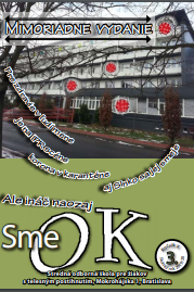 Úvodná stránka časopisu SME OK, publikovaný našími žiakmi zo SOŠ pre telesne postihnutých žiakov